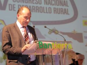 José Antonio Alayeto. Presidente Bantierra. Congreso Desarrollo Rural