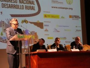 Javier Rincón. Secretario General Técnico del Gobierno de Aragón. Congreso Desarrollo Rural
