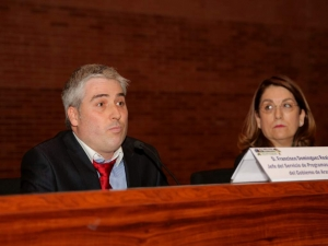 Francisco Domínguez, jefe del Servicio de Programas Rurales del Gobierno de Aragón. Congreso Desarrollo Rural