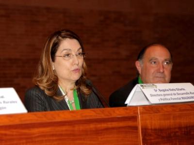 Begoña Nieto, Fernando Luna. IV Congreso Nacional de Desarrollo Rural