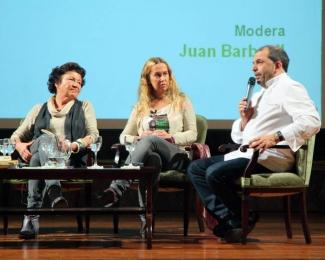 Paz Ivison, Marta Fernandez Guadaño y Jesus Sanchez