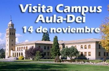Visita Campus Aula Dei. Colegio Ingenieros Agrónomos e Ingenieros Técnicos Agrícolas