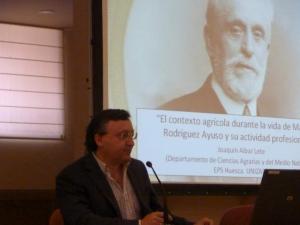 """Joaquín Aibar. La investigación agroalimentaria en Aragón: """"Sus inicios con Rodríguez Ayuso"""""""