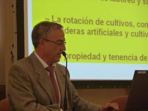 """Ignacio Delgado.La investigación agroalimentaria en Aragón: """"Sus inicios con Rodríguez Ayuso"""""""