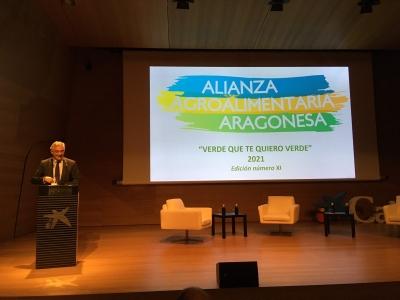 Joaquín Olona, Consejero de Agricultura, Ganadería y Medio Ambiente del Gobierno de Aragón
