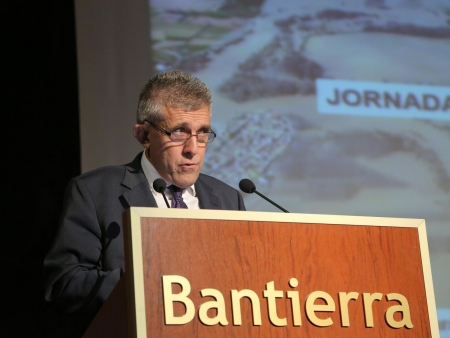 D. Ángel Samper de ASAJA en representación de la Alianza Agroalimentaria Aragonesa