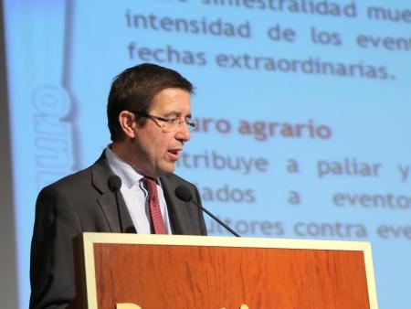 D. Juan Cruzán. Agroseguro. Alianza Agroalimentaria Aragonesa