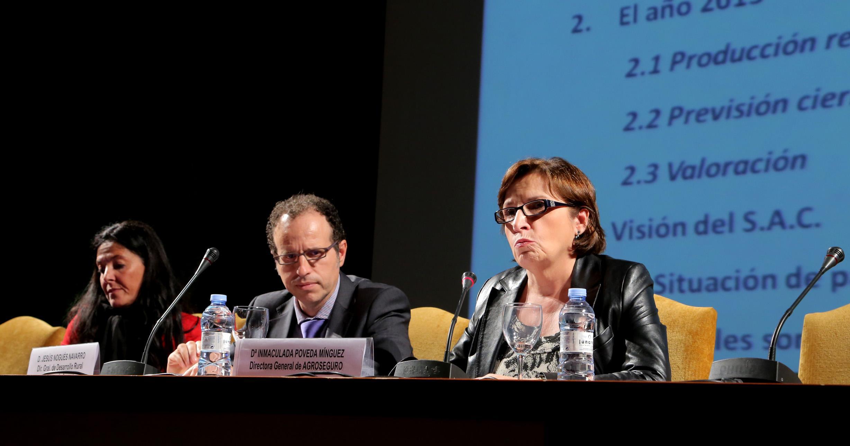 Dª Inmaculada Póveda, Directora General de AGROSEGURO