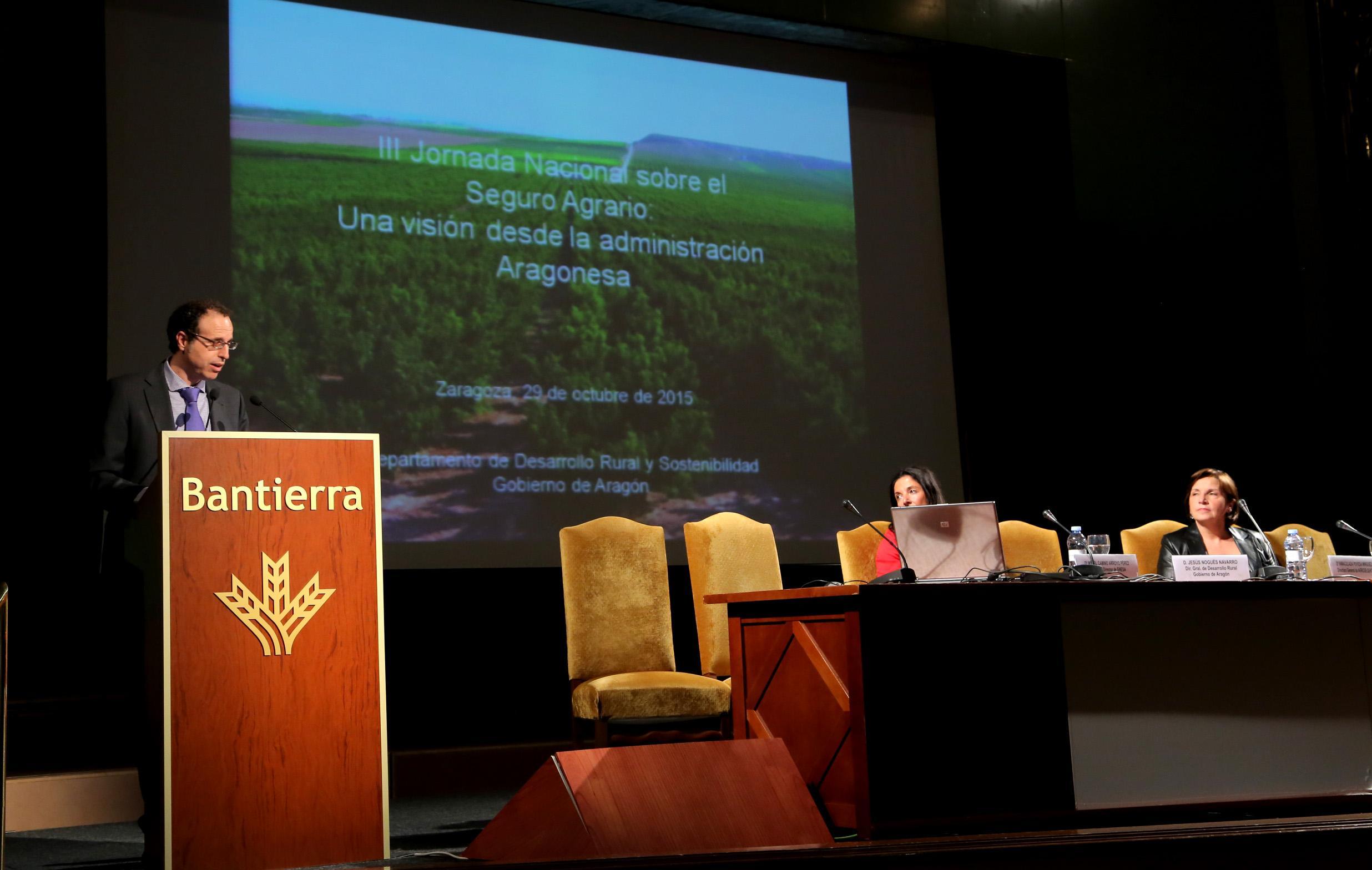 D. Jesús Nogues, Director General de Desarrollo Rural del Gobierno de Aragón