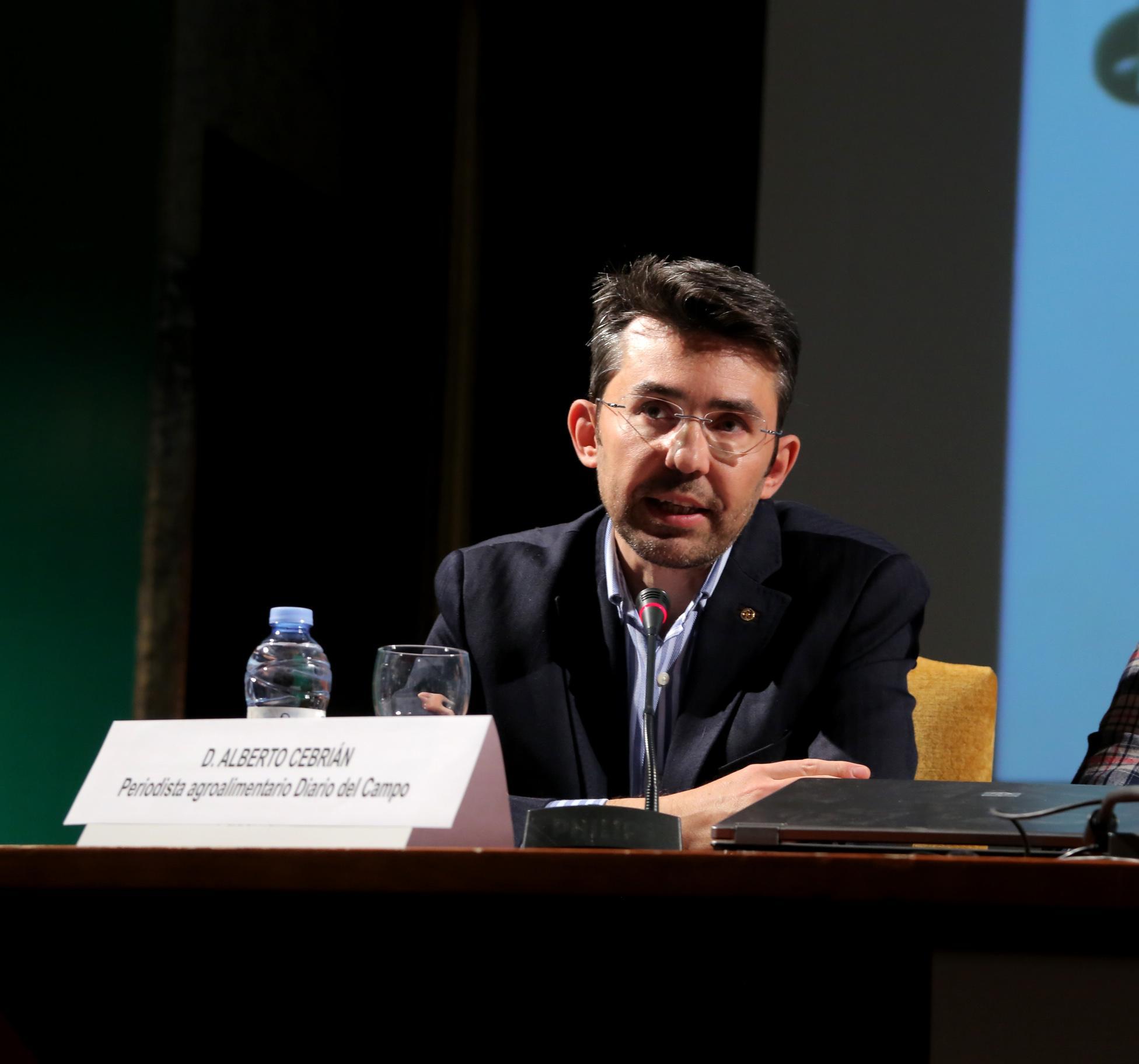 D. Alberto Cebrian, Periodista agroalimentario. Diario del Campo