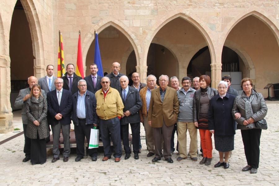 Se hizo un homenaje a empleados jubilados de la OCA y D. Juan Manuel García Bartolomé, Jefe de Área del Ministerio de Agricultura