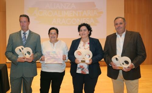 Los galardonados en la edición de los premios AAA 2017