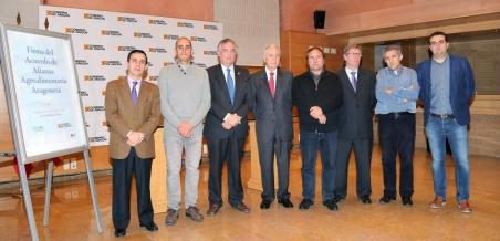 Un sistema organizado de asesoramiento y transferencia agroalimentaria para Aragón