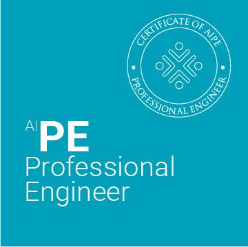 AIPE. Professional Engineer. Colegio Ingenieros Agrónomos de Aragón, Navarra y País Vasco