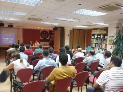 Presentación check list INAGA Colegio Ingenieros Agrónomos Aragón, Navarra y País Vasco. Agilización tramitación explotaciones ganaderas