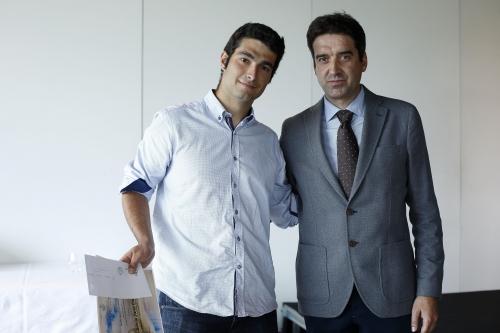 Adrian Jarne y Francisco Javier García