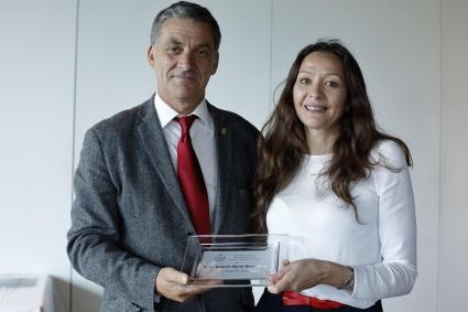 Raquel Mené, Vocal de la Junta de Gobierno saliente