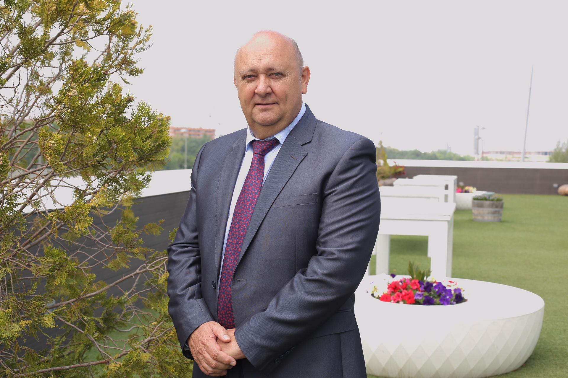 José Victor Nogués. Presidente de Cooperativas Agroalimentarias de Aragón. Colegiado de Honor 2018