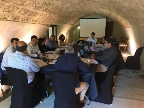 Reunión de Junta de Gobierno, 1 junio, Beceite