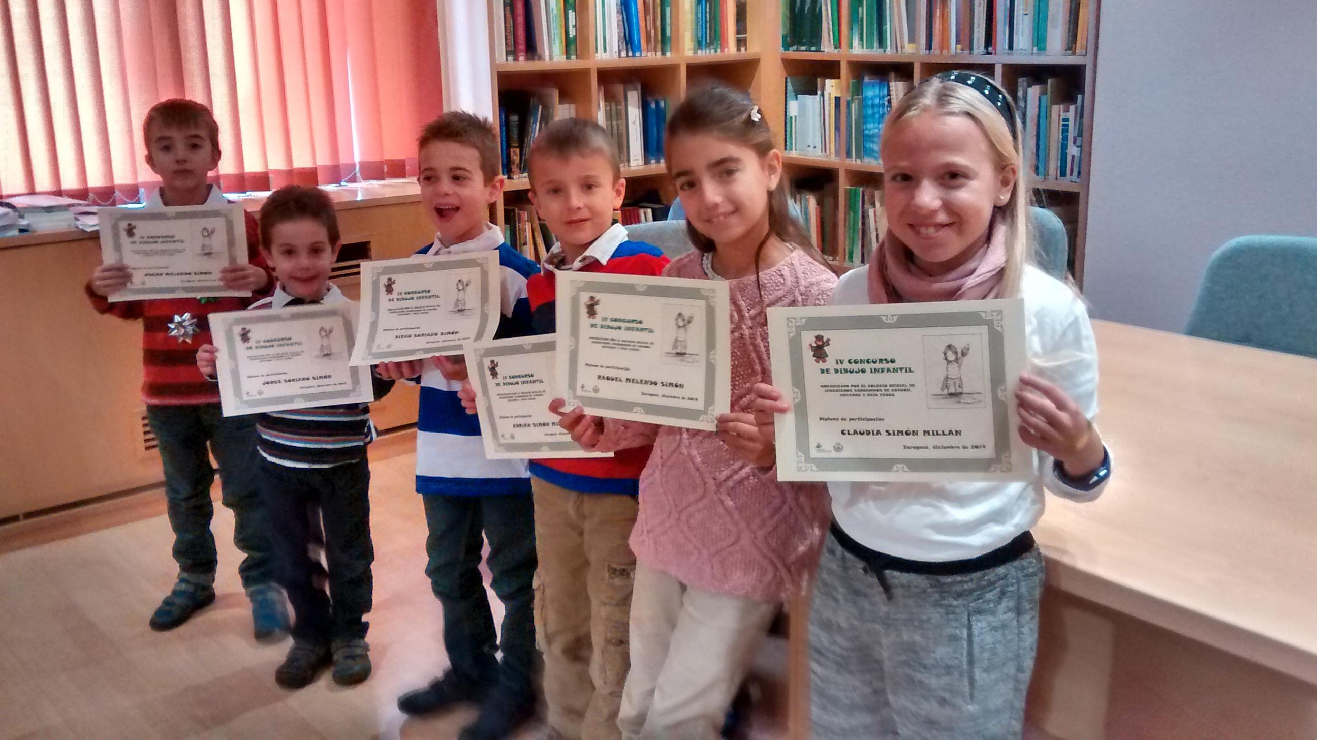 Adrian, Claudia, Oscar, Raquel, Diego y Jorge