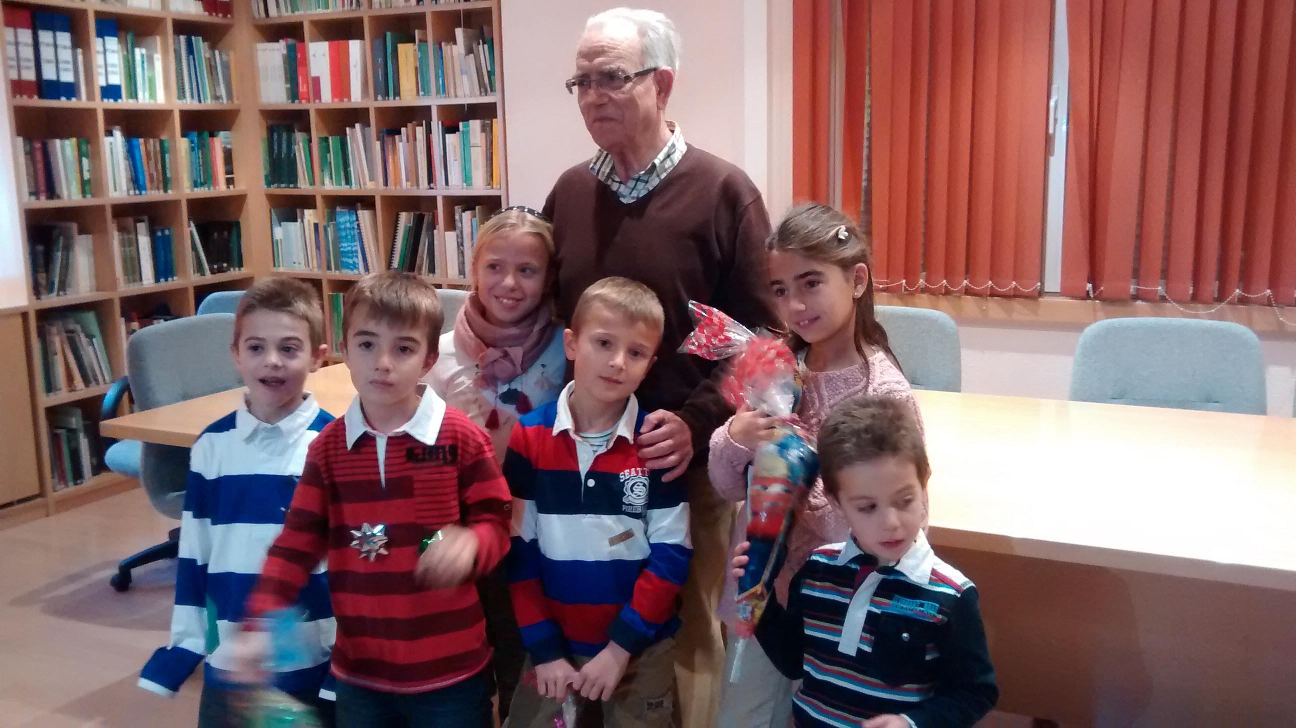 José Simón y sus nietos...
