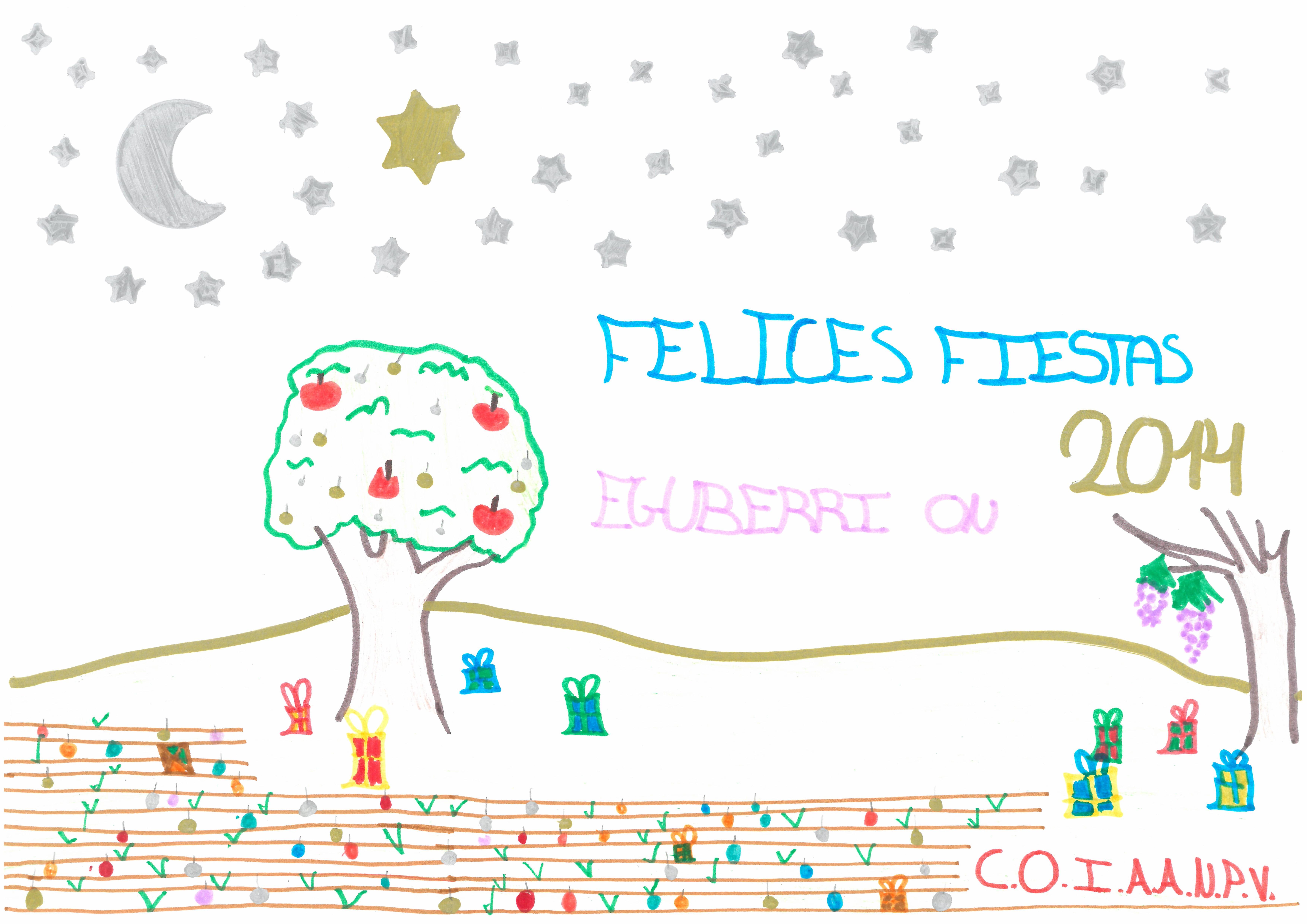 """""""Feliz Navidad para todos los amigos del trabajo de mamá"""" de Irene Torrano"""