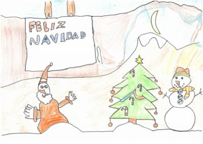 """""""Ojalá nieve mucho en Navidad, para poder jugar a hacer muñecos y para que las cosechas sean mejroes el año que viene"""". Jorge Soriano, 5 años"""
