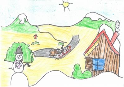 """""""El invierno y por tanto la Navidad, es una época dura de trabajo en el campo pero en primavera se verán los resultados"""" Diego Soriano, 7 años"""