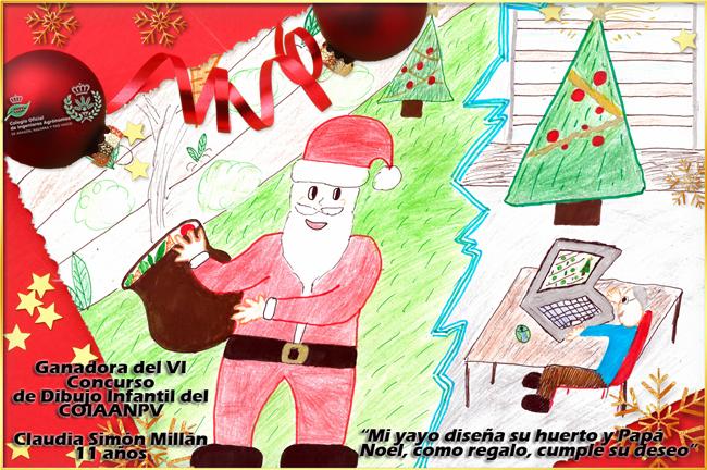 Dibujos De Navidad Hechos Por Ninos.Concurso De Dibujo Infantil Otros Premios Concursos Y