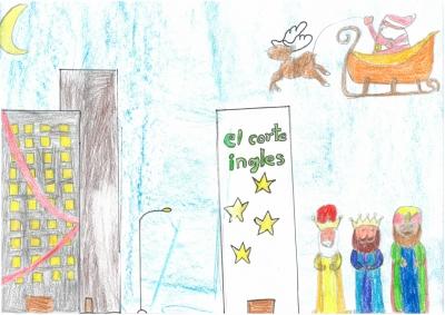"""""""Vive la Navidad"""" Adrián Simón, 11 años"""