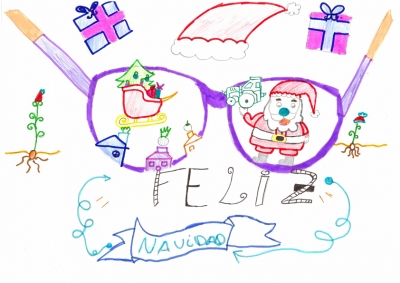 """""""La mirada de la Navidad"""" Ana Dominguez, 9 años"""