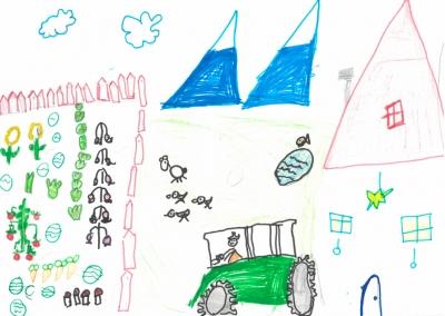 """""""El trabajo de mi mamá constribuye al desarrollo del Medio Rural"""" Diego de Partearroyo, 6 años"""