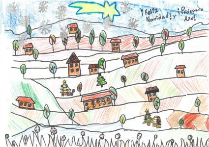"""""""En el campo también es Navidad"""" Jorge Soriano, 9 años"""