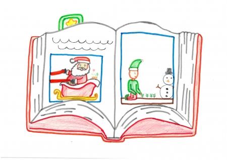 """Ana Domínguez, 11 años. """"El libro de la Navidad"""""""