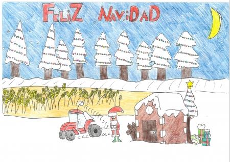 """Dario Cano, 11 años. """"Papa Noel nos ayuda con las nuevas tecnologías"""""""