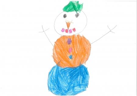 """Elena Romero, 3 años. """"Navidad, blanca Navidad"""""""