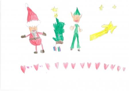 """Sara Romero, 5 años. """"Navidad, tiempo de amor e ilusión"""""""